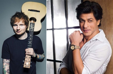 Ed Sheeran wants to collaborate with Shah Rukh Khan?