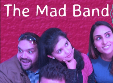 At desiFEST: The Mad Band