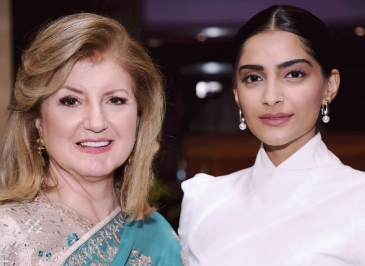 Sonam K Ahuja in conversation with Arianna Huffington for Thrive Global India!