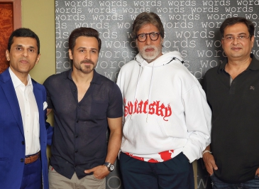 Producer Anand Pandit unites Amitabh Bachchan and Emraan Hashmi for the 1st time!