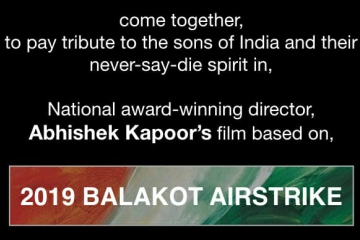 T-Series next, a film by Abhishek Kapoor, on The Balakot Airstrike, is a  Sanjay Leela Bhansali, Bhushan Kumar, Mahaveer Jain and Pragya Kapoor collaboration!