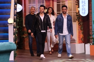 The cast of SonyLIv's web series - Avrodh, on The Kapil Sharma Show!